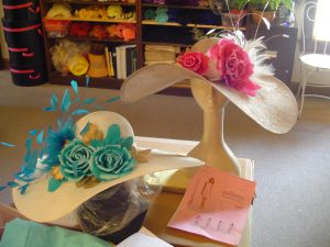 Custom Derby hats for Miss Kentucky and Miss Kentucky Teen