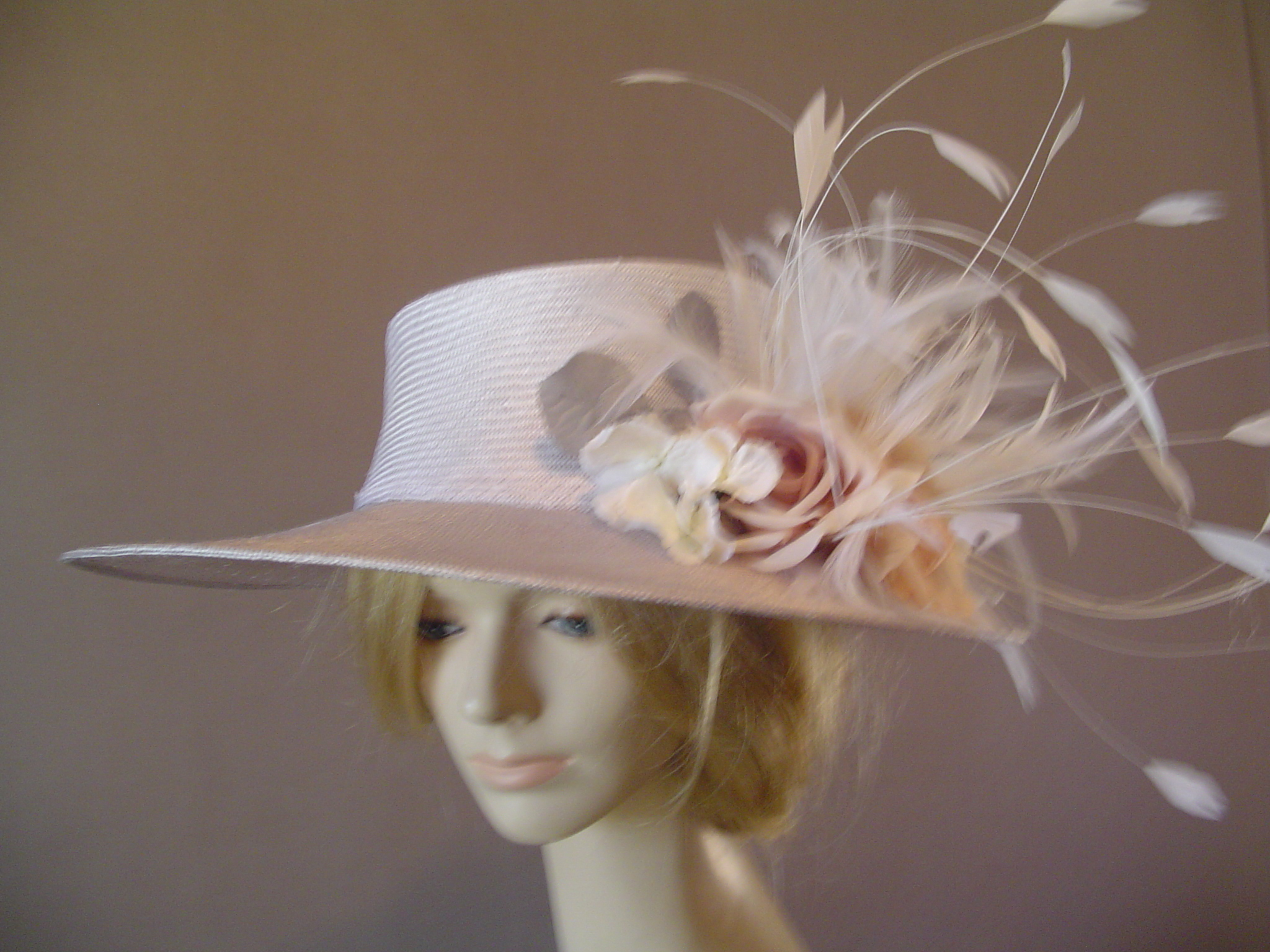 ee244029b9c Custom Royal hat for Chanel suit for Derby 2012
