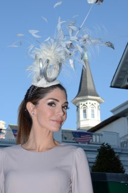 Probably the wildest fascinator that I have ever done.