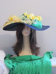 Custom Elegant hat to match dress in 2014