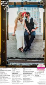 Estelle featured in Real Weddings!