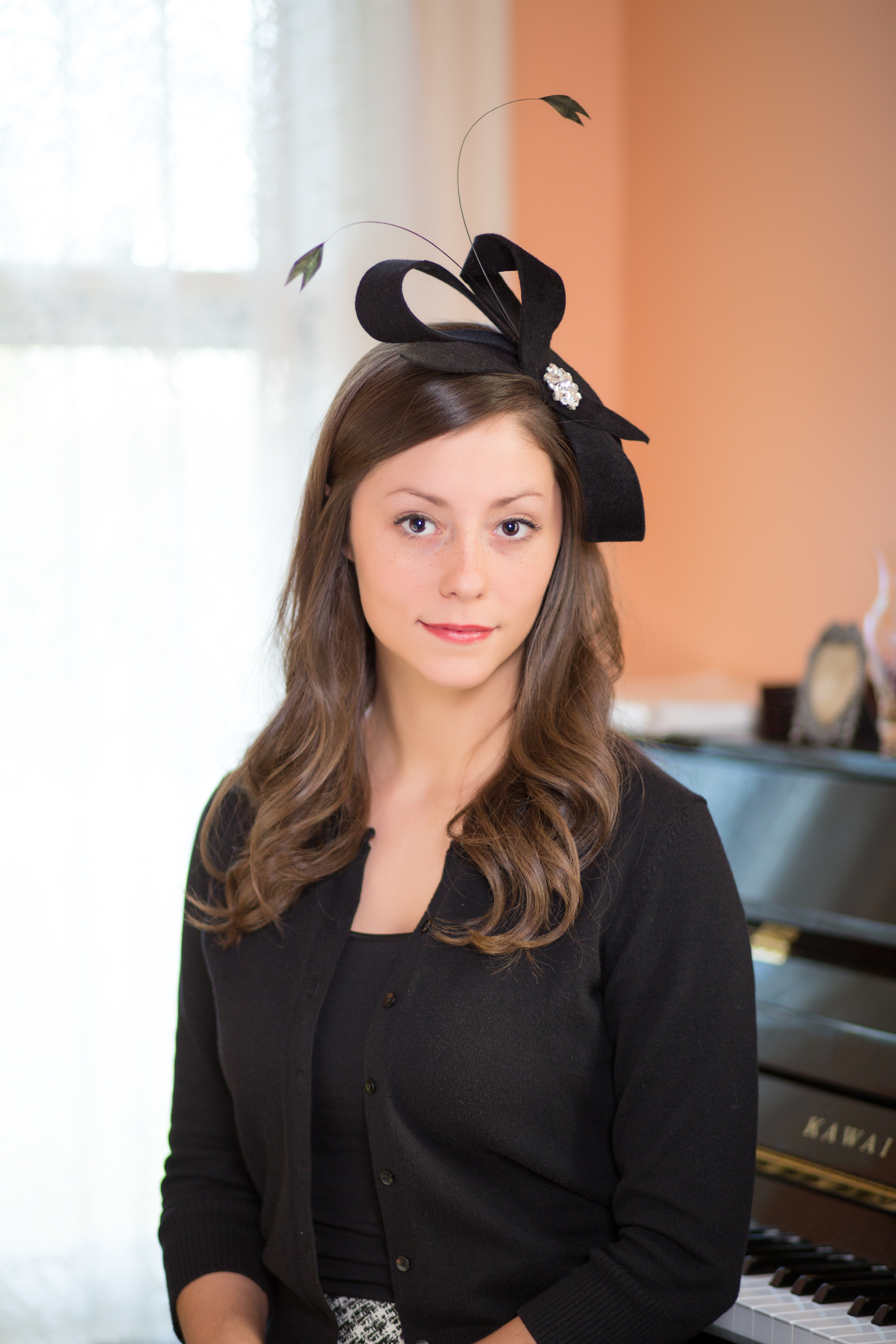 7d4cc4383b4 Celine - Derby Hats by Polly Singer Couture Hat