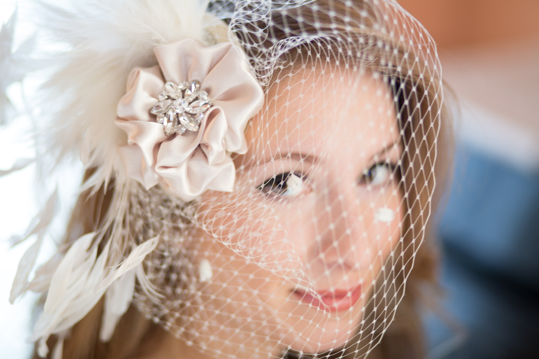 Colette – Fascinator, Bridal