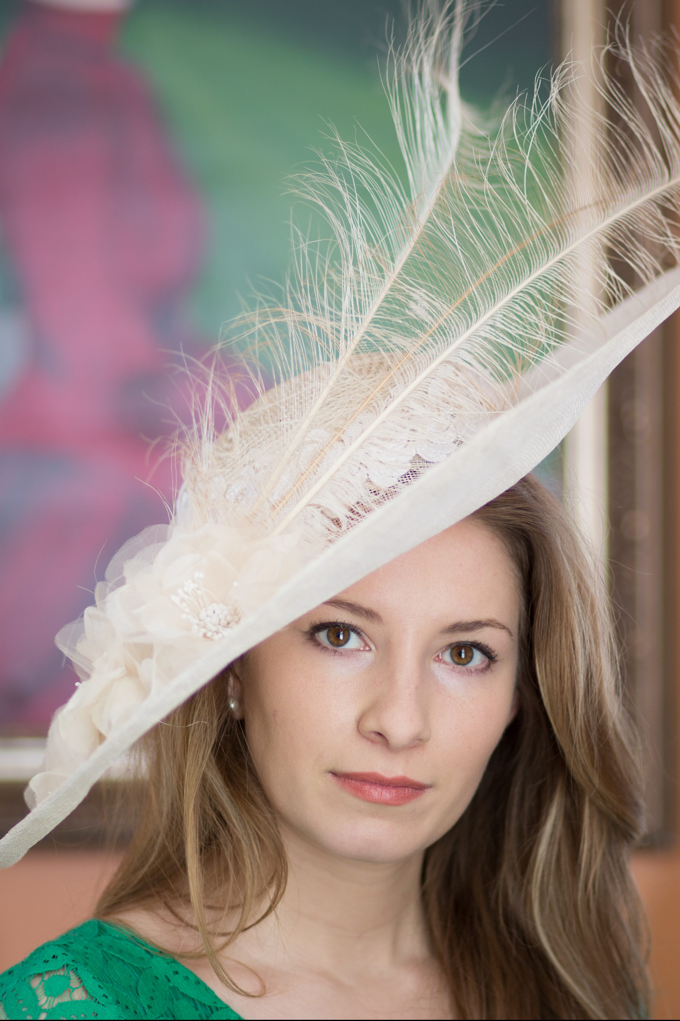 467b2e6f263 Elise - Derby Hats by Polly Singer Couture Hat