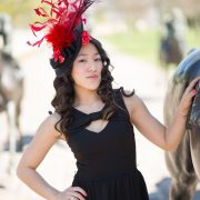 Ellie – Saucer Hats, KY Derby, Fascinator 2
