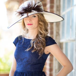 Estee-kentucky-derby-hat