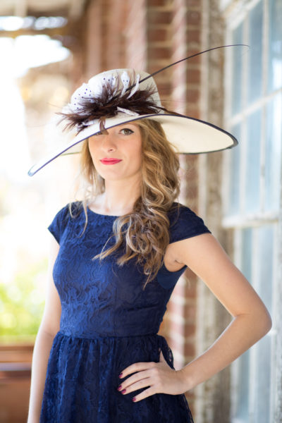 Estee Hat, KY Derby, Spring-Summer collection, Breeders Cup