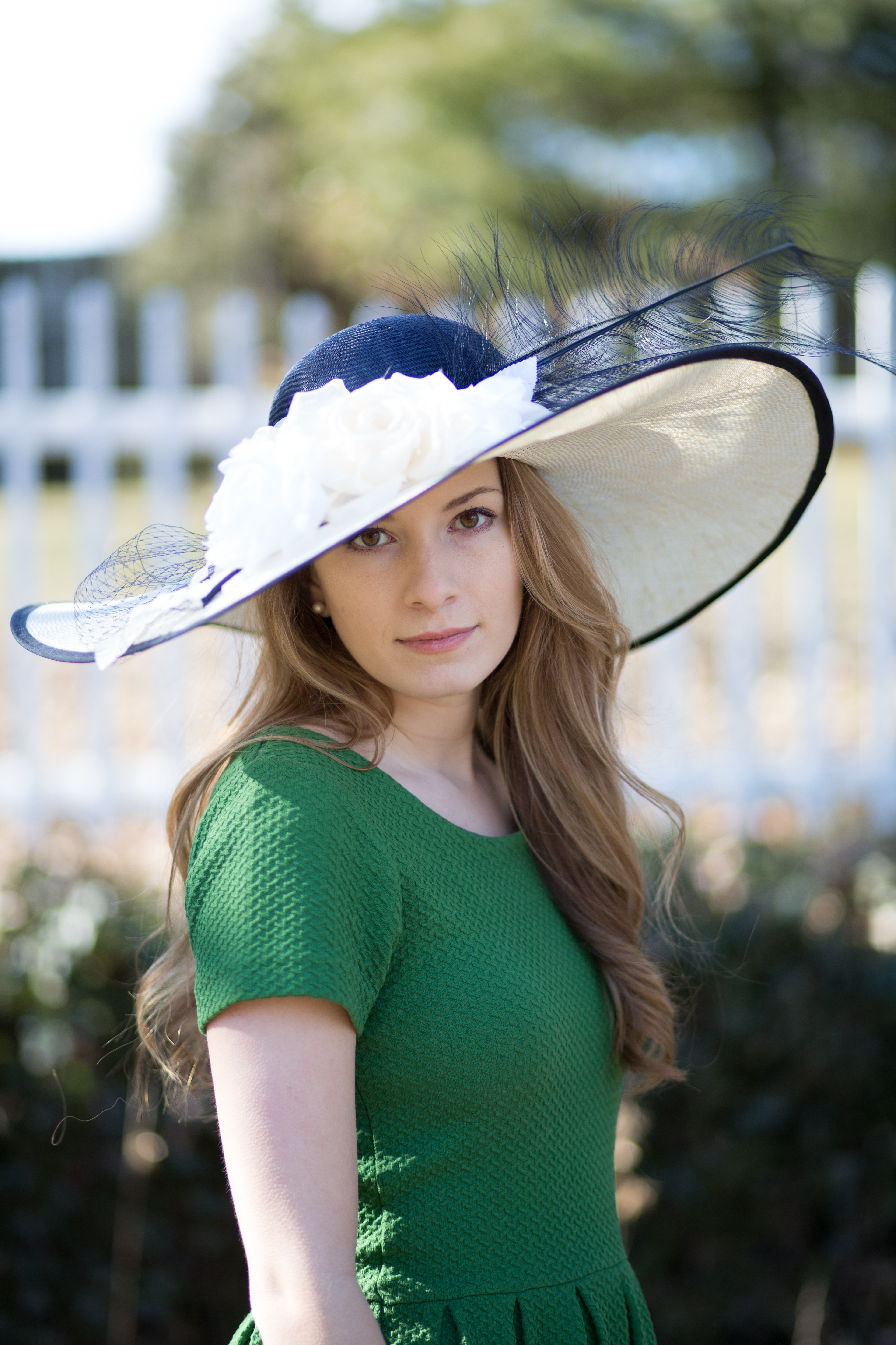 c86a0a61098 Hyde Park - Derby Hats by Polly Singer Couture Hat