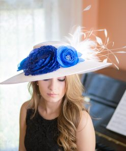 les-blues-polly-singer-kentucky-derby-hat
