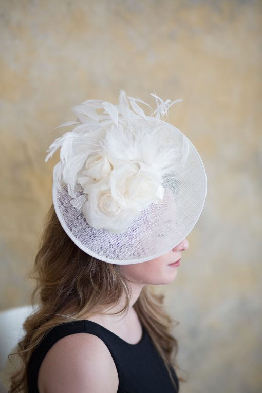 Lillibeth 2 – Bridal, Saucer, KY Derby, Fascinator, Spring Summer