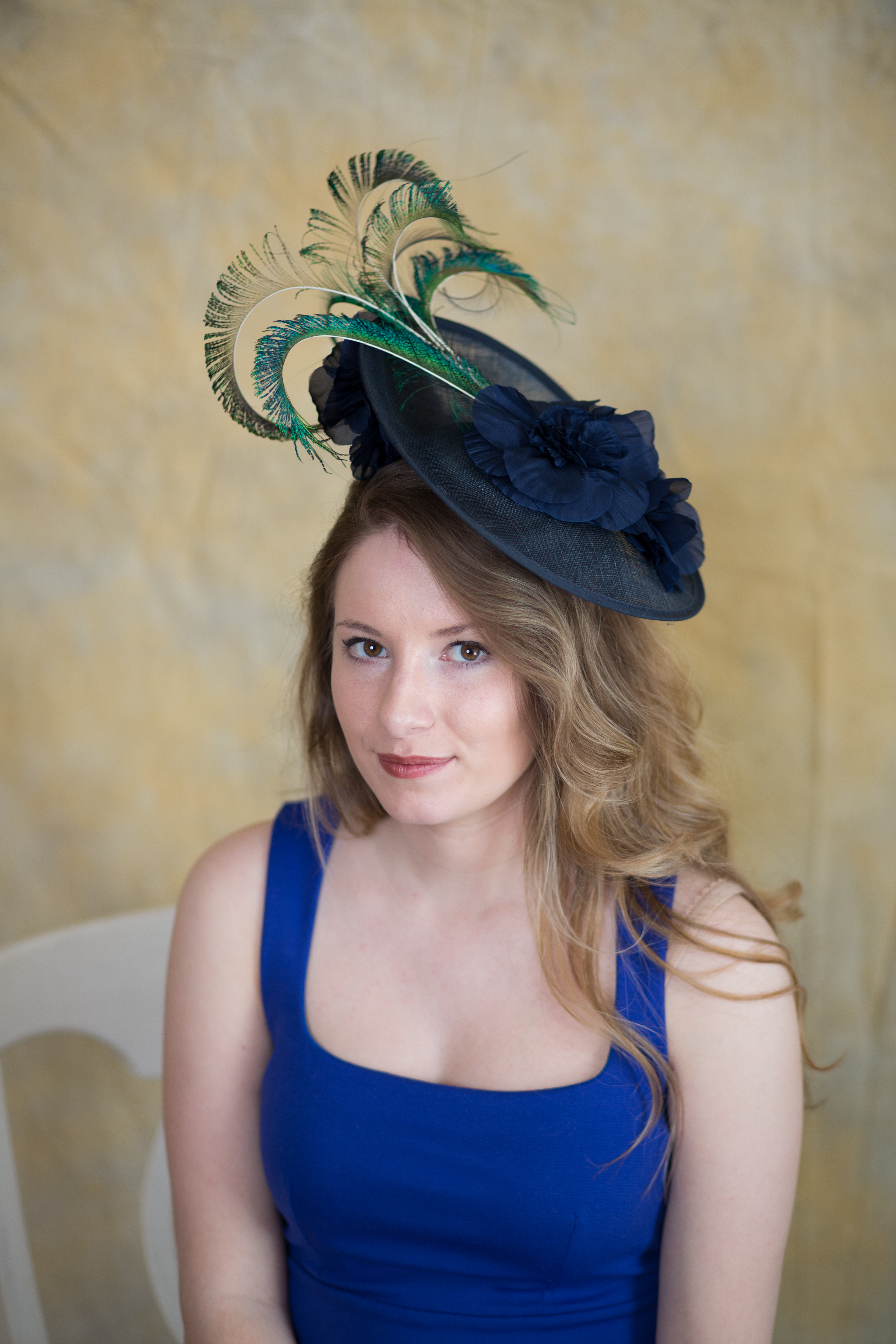 ec645979d53 Olivia - Derby Hats by Polly Singer Couture Hat