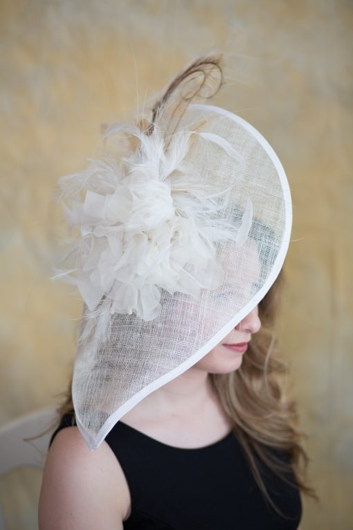 Tia – Bridal, Fascinator, KY Derby, Spring Summer