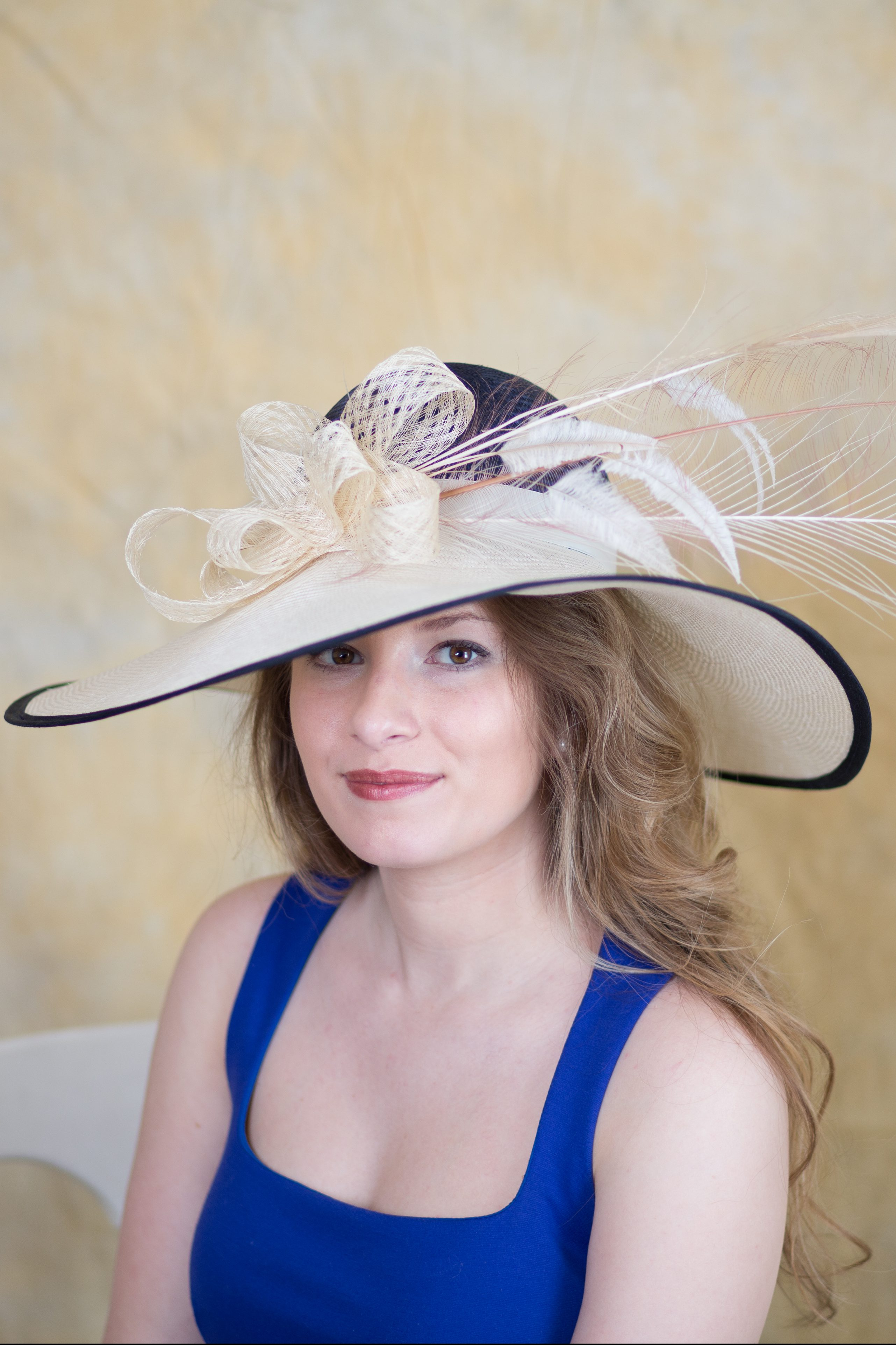 7ffa4dd2035 Wilshire - Derby Hats by Polly Singer Couture Hat
