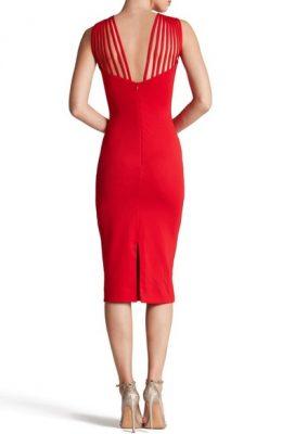 Gwen knit midi dress