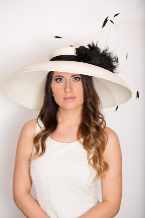 Holly Ivory Tiffany Hat