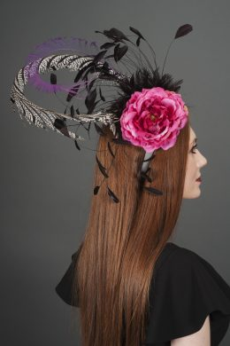 Breeze Fall Feather Fascinator
