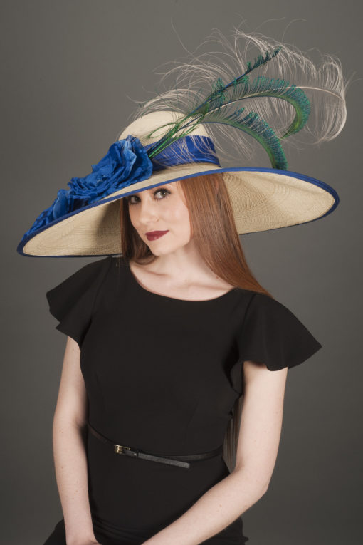 Wendy Lavish Derby Statement Hat