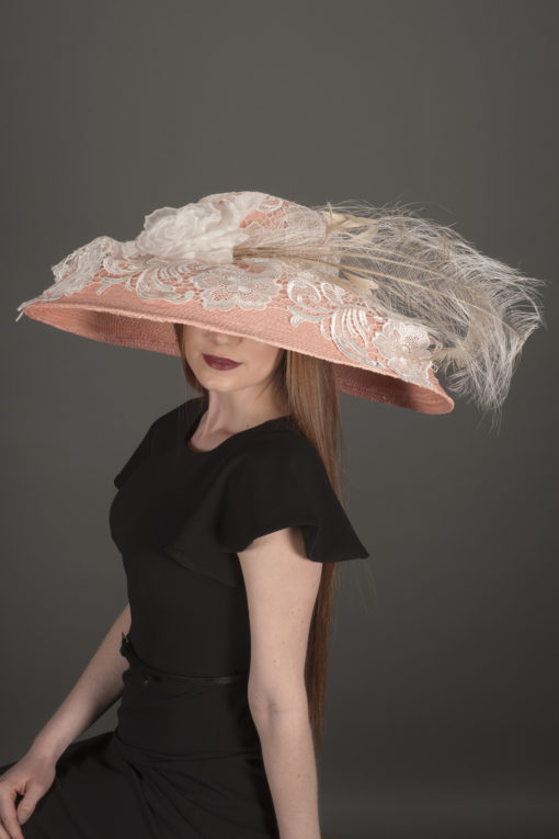 Emma Pink Bell Statement Hat