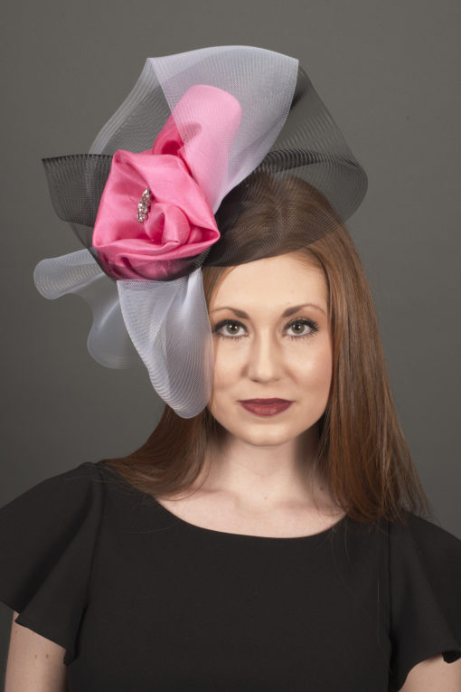 Miss Audrey Crin Fascinator