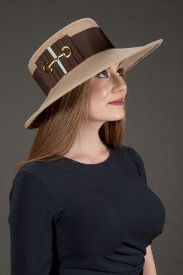 Barbara Wool Sailor Hat