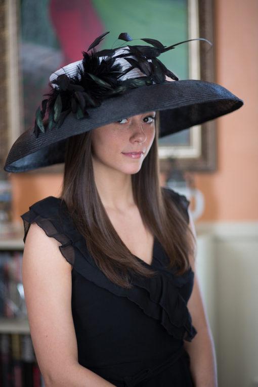 holly go lightly at churchill hepburn hat