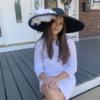 Vivien Black Audrey Hat