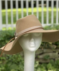 Lillith Boho Camel Wool Womens Hat
