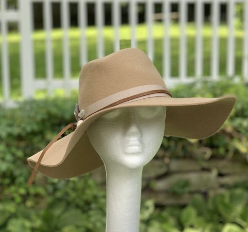 Lillith Boho Camel Wool Hat