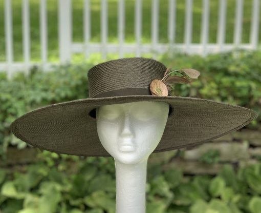 Monica Olive Oversize Sun Hat