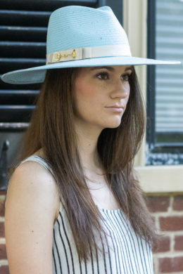 Alice Robins Egg Blue Ladies Fedora