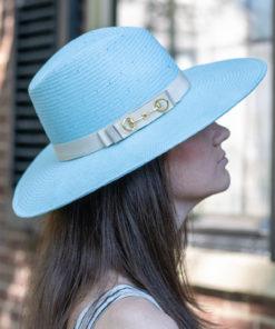 Alice Blue Ladies Summer Fedora