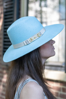 Alice Blue Ladies Summer Fedora