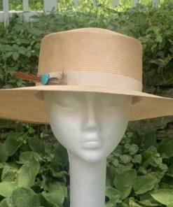 Fina Tan Sailor Casual Hat