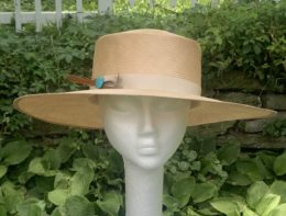 Fina Tan Sailor Casual Hat