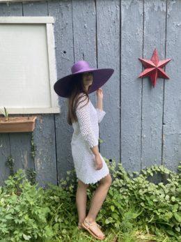 Isabelle Huge Panama Ladies Sun Hat