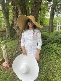 Sarah Jane Oversize Tan Sun Hat
