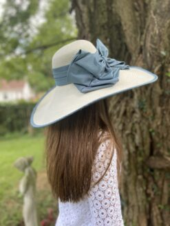 Savannah Ivory Wide Brim Hat