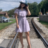 Judith Blue Upturned Hat
