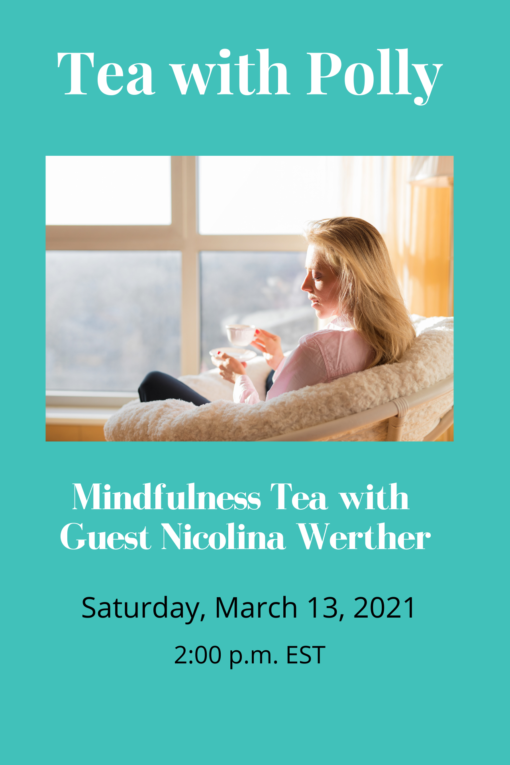 March Mindfulness Tea with Nicolina Website