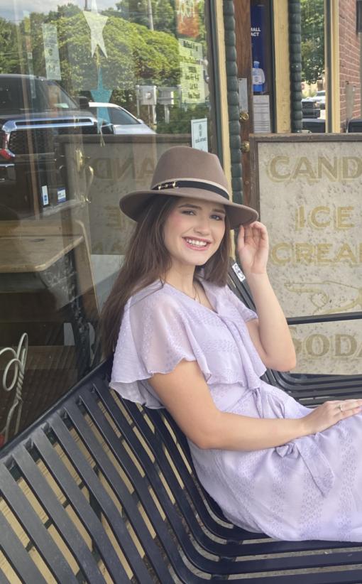 Hannah Tan Fedora Hat