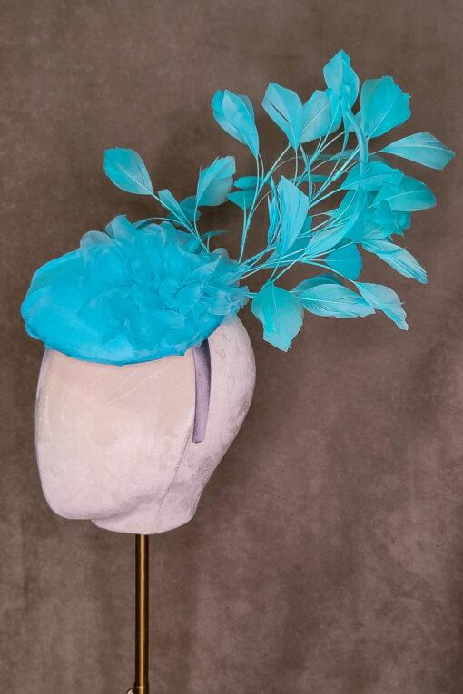 Bella Light Blue Percher