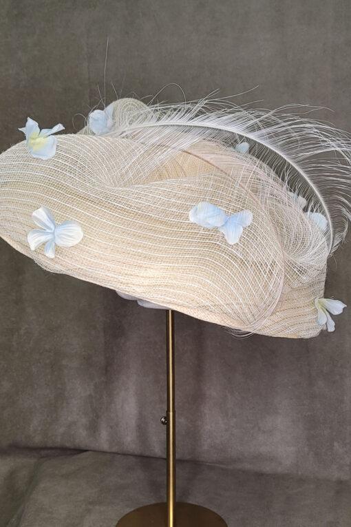 Elena Tan Floral Hat