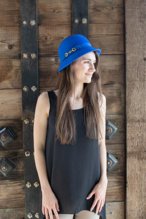 Aislin Blue Hat