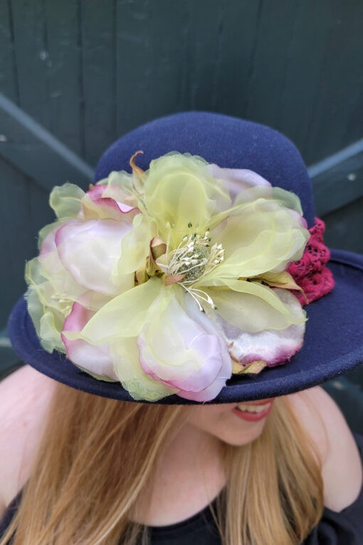 Blair Navy Hat