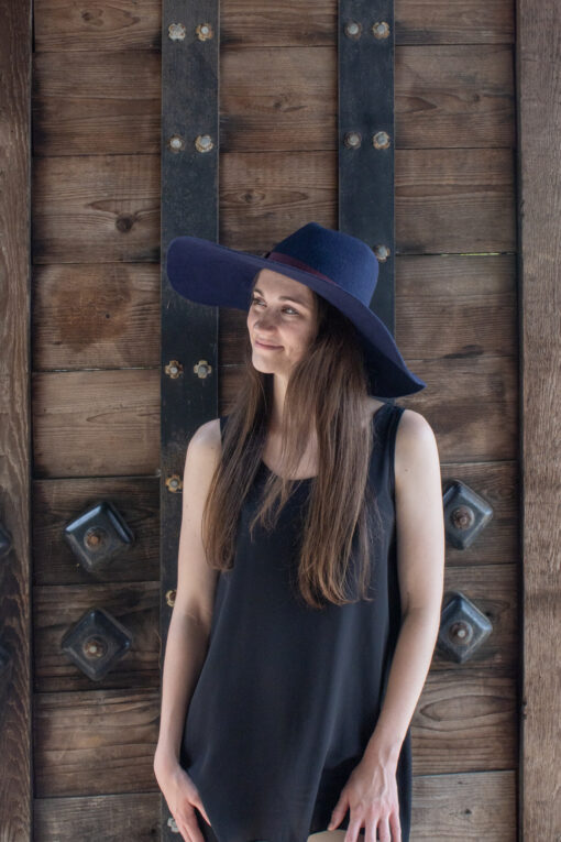 Campbell Navy Hat